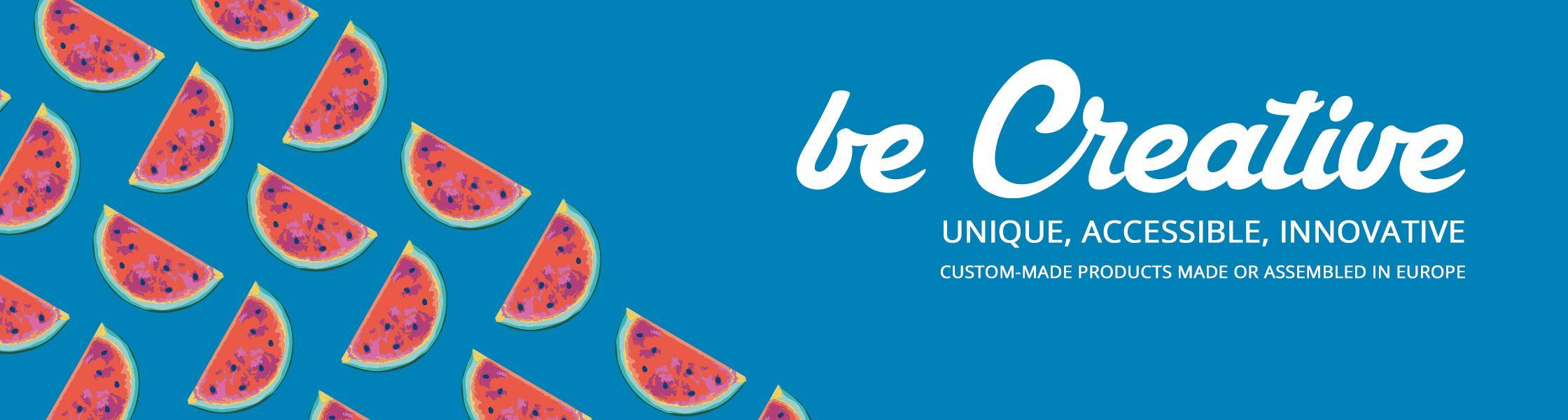 Unser neuer, einzigartiger BE CREATIVE 2021 E-Katalog ist da!