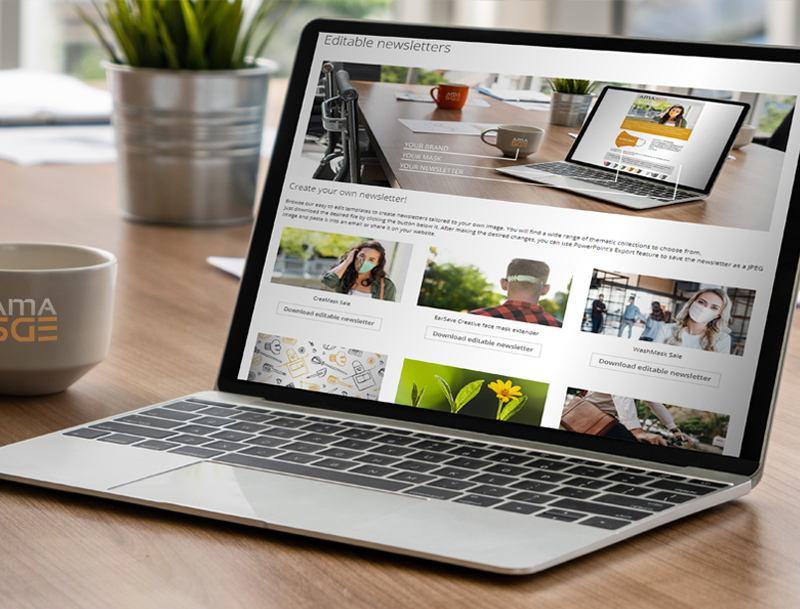 Kreieren Sie Ihren eigenen Newsletter!