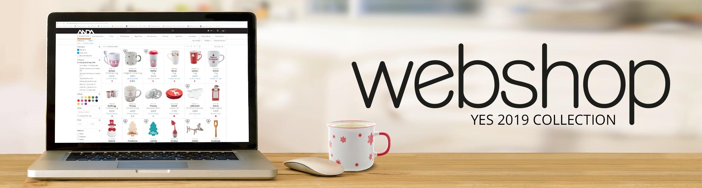 YES - unsere Weihnachts-Kollektion ist nun in unserem Webshop verfügbar