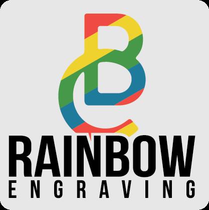 Be Creative Rainbow Engraving