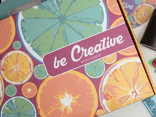BE CREATIVE set di campioni