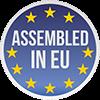 Assembled in EUROPE